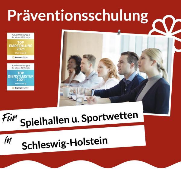 Schleswig-Holstein / Spielhalle u. Sportwette