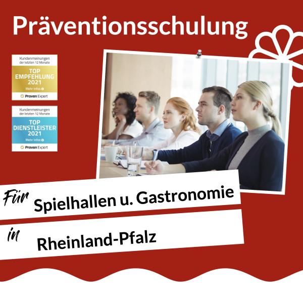 Rheinland-Pfalz / Spielhalle & Gastronomie