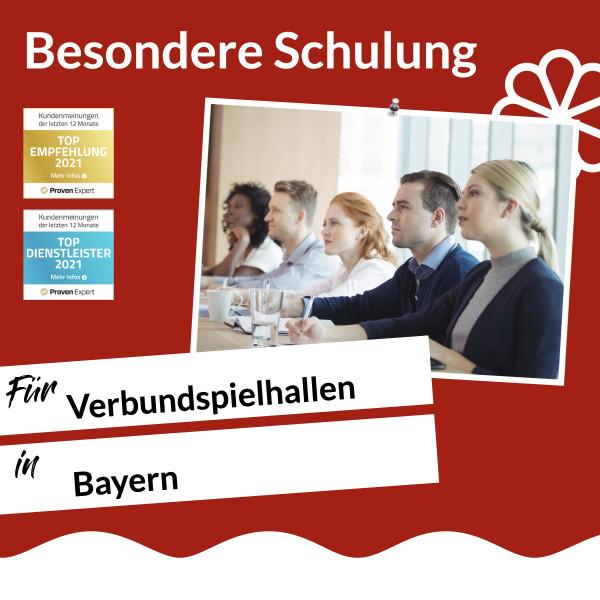 Bayern / Besondere Schulung Verbundspielhalle