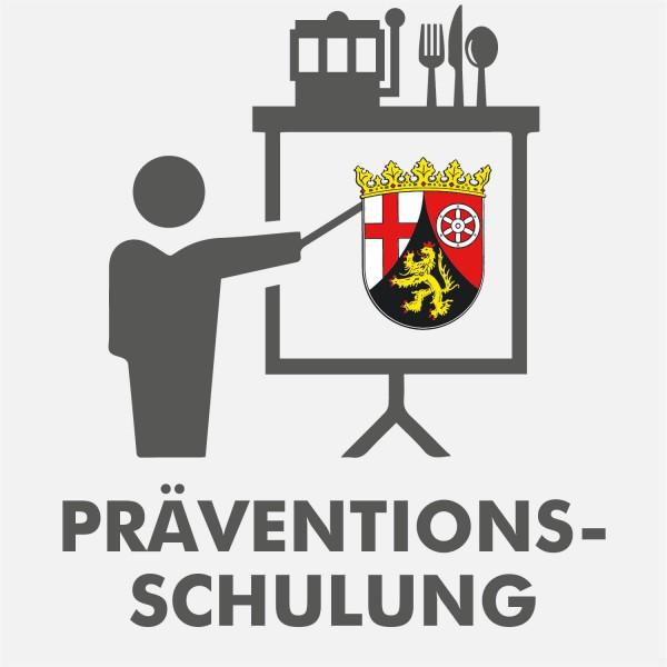 Präventionsschulung Rheinland-Pfalz Spielhalle & Gastronomie 2021