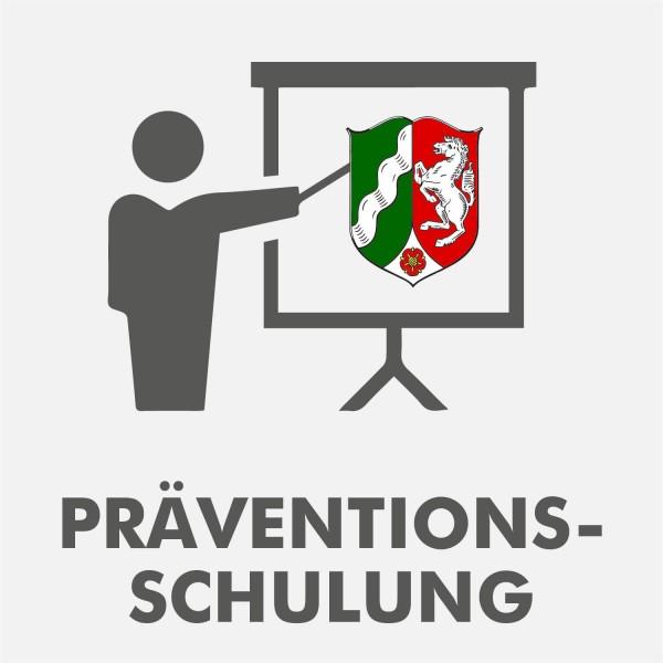 Präventionsschulung Nordrhein-Westfalen Spielhalle 2021