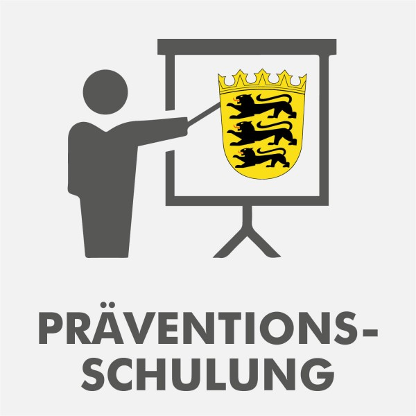 Präventionsschulung Baden-Württemberg Spielhalle Wiederholung 2021