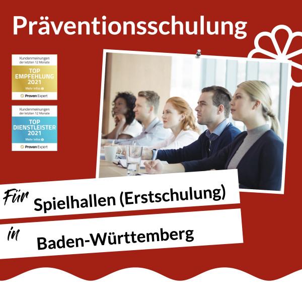 Baden-Württemberg / Spielhalle / Erstschulung