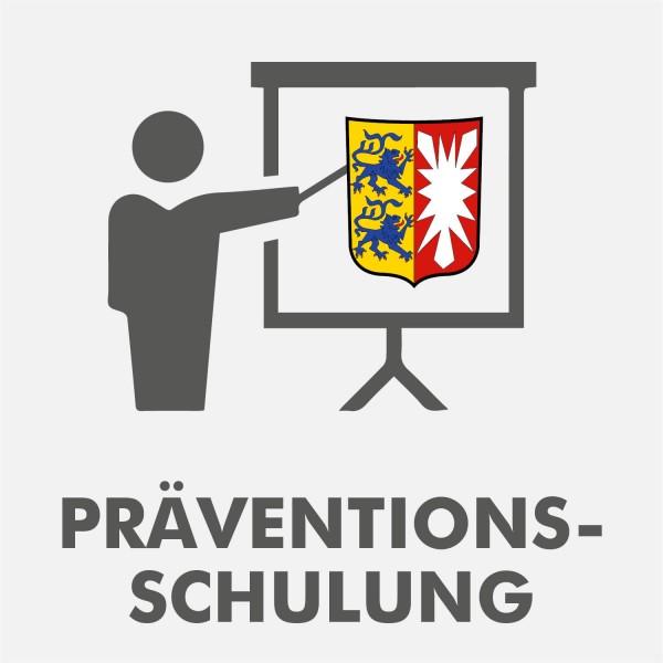 Präventionsschulung Schleswig-Holstein Spielhalle 2021