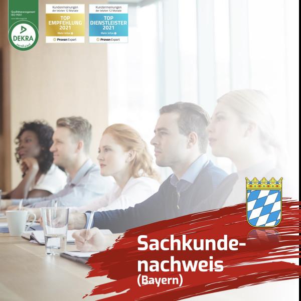 Sachkundenachweis Bayern Verbundspielhalle