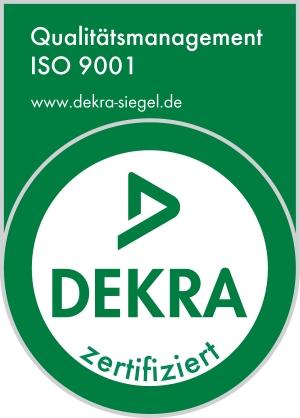 Merlato DEKRA Zertifikat ISO 9001